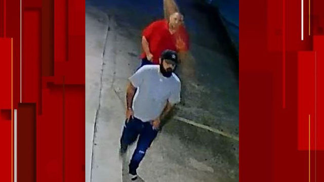 Crime Stoppers seek pair who robbed victim at gunpoint