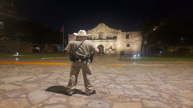 Meet the Alamo Rangers who protect history, answer questions in middle…