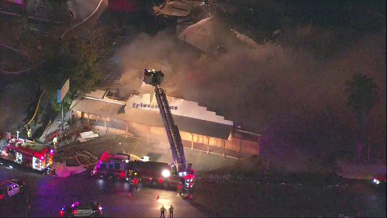 WATCH LIVE: New Braunfels Fire crews work to extinguish fire
