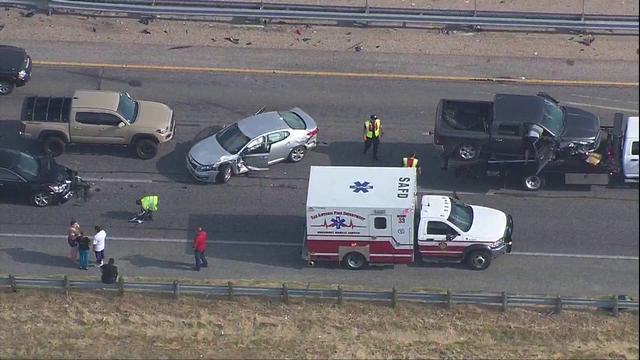 LIVE: Multi-vehicle crash snarls rush-hour traffic on Highway 90