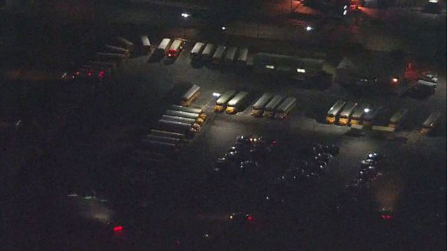 LIVE: SKY 12 flies over back-to-school traffic