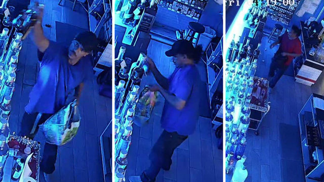 'THREE times!': Man steals bottles from San Antonio liquor store, SAPD says