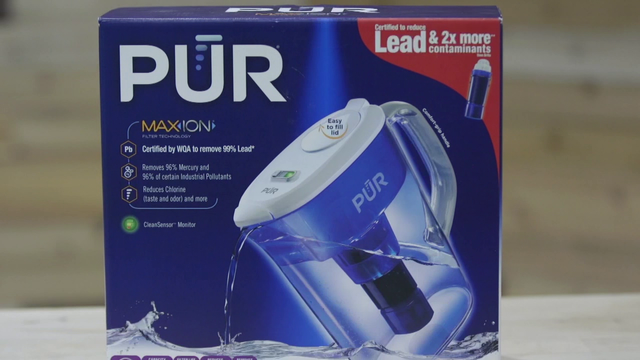 Consumer Reports tests filtered water pitchers for taste, smell