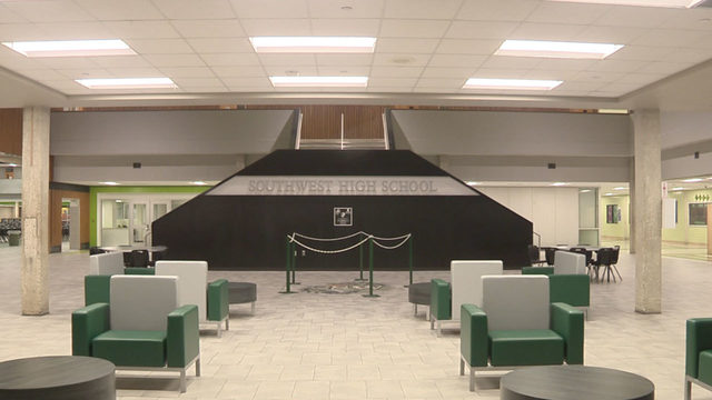 Southwest High School welcomes students with face-lift, renovations