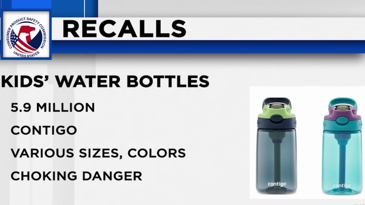 RECALL ROUNDUP: Children's water bottles, wireless