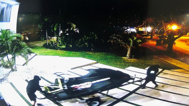 WPLG: Masked thieves steal WaveRunner from home