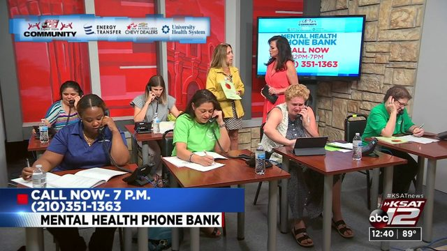 KSAT Community Mental Health Phone Bank | KSAT12