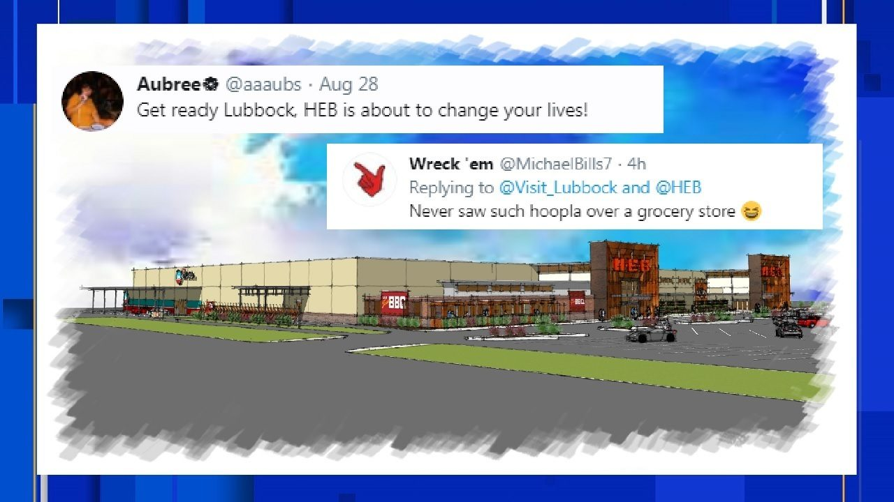 Heb Announces Plans For Lubbock Store Locals Lose Their Minds
