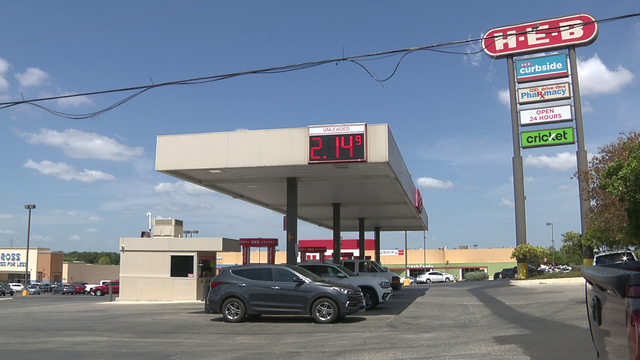Cheaper gas fueling Labor Day road trips
