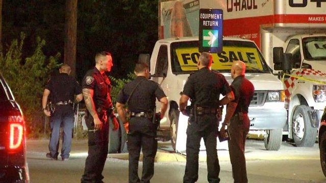 Man stabbed after argument over a U-Haul truck