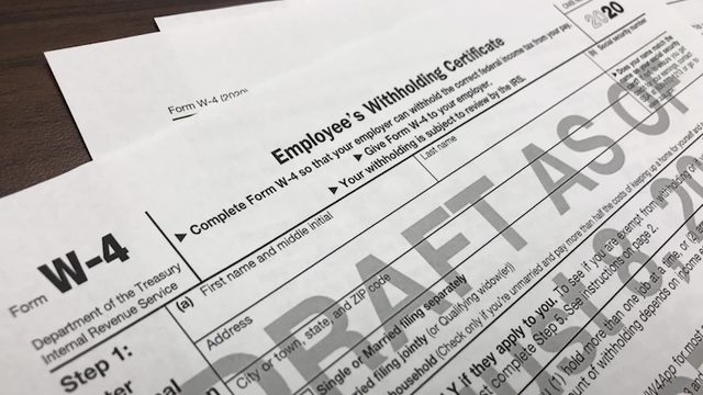 Changes are coming to W-4 form. Here's what you need to know.