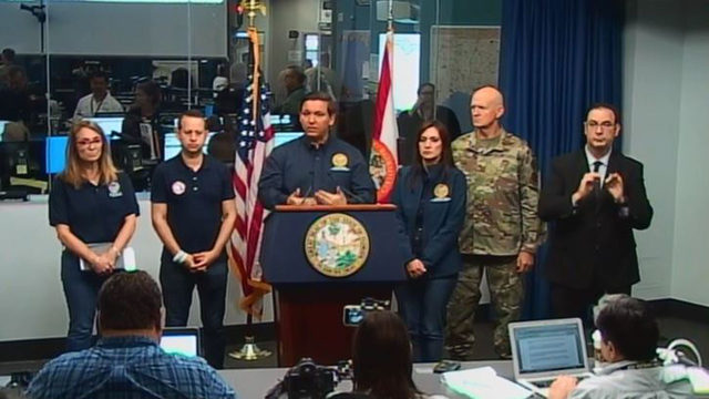 LIVE: Florida Gov. Ron DeSantis gives press conference on Hurricane Dorian