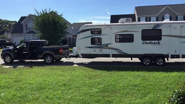 Thieves steal retired military couple's travel trailer