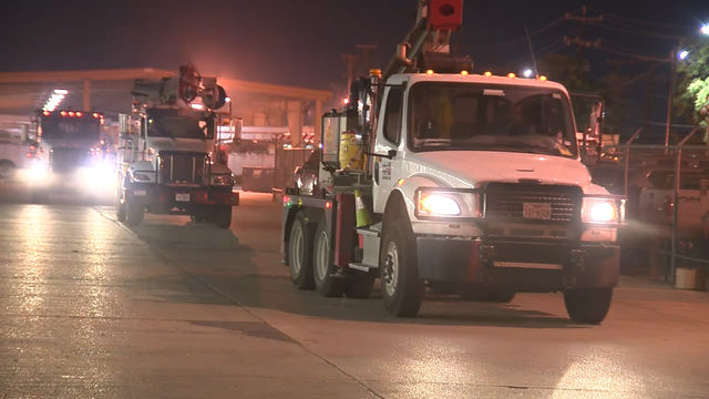CPS Energy crews headed to East Coast to help victims of Hurricane Dorian