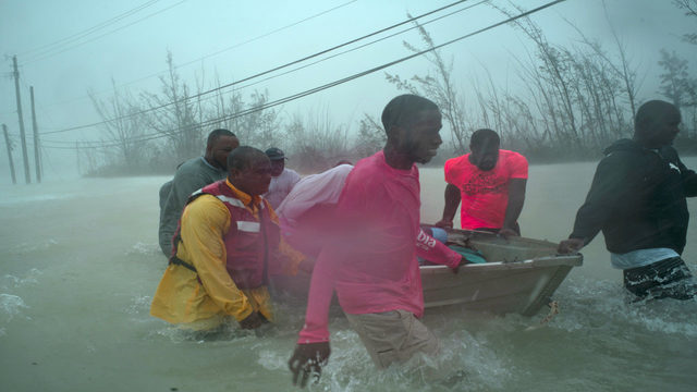 Bahamians begin rescues as Dorian moves on toward US coast