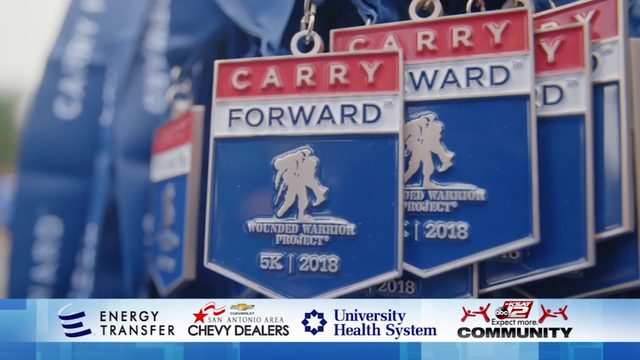 KSAT Community spotlight feature: Wounded Warrior Project