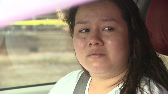 Mother says she could only grab her daughter before flames engulfed apartment