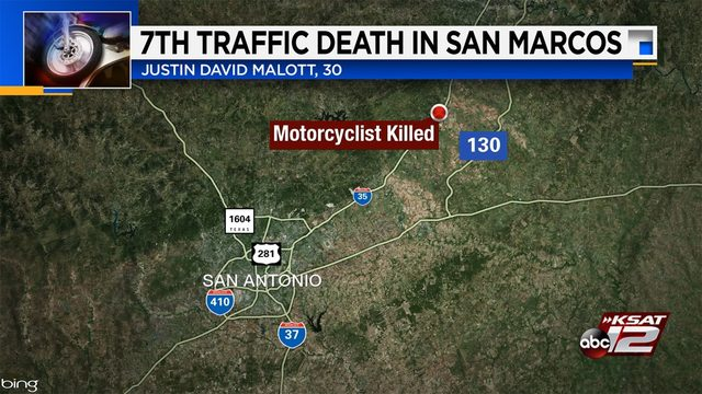 Motorcyclist, 30, killed in crash in San Marcos