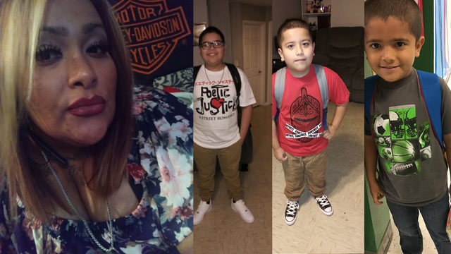 San Antonio police search for missing children believed to be with…