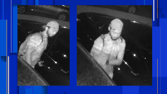 Have you seen this car burglary suspect? Neighbors say he's armed