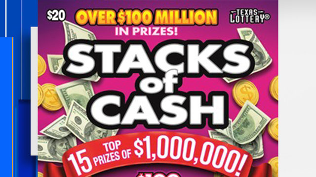 San Antonio resident claims $1 million lottery prize in scratch off game