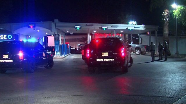 Drunken driver rear-ends DPS vehicle, runs into ATM