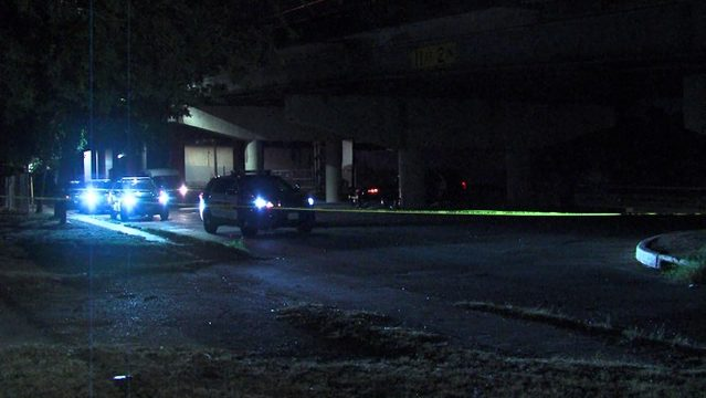 Homeless man in critical condition after drive-by shooting