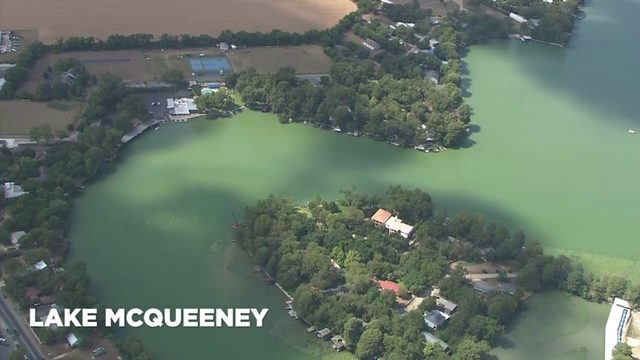 Aerial footage shows natural beauty of 4 GBRA lakes as deal postpones draining