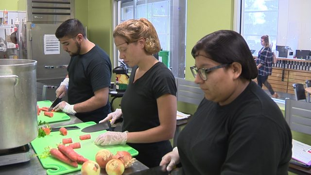San Antonio Food Bank teaches students culinary skills for future jobs