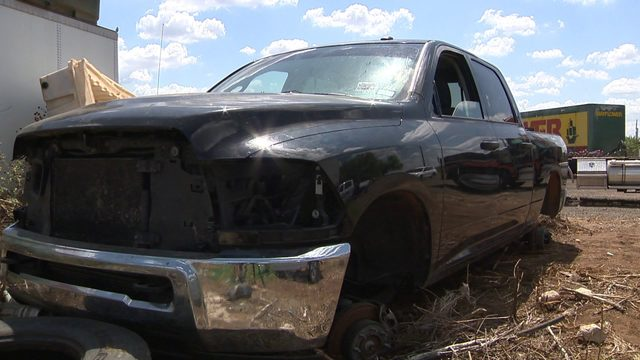 Dilley police finding abandoned stolen vehicles in wooded areas along highways