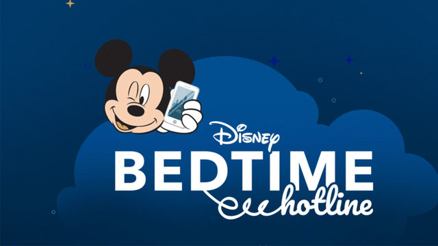 Free Disney hotline helps put your kids to bed