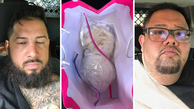 BCSO: 2 men arrested after $160K worth of crystal meth found during traffic stop