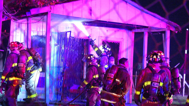 Arson investigators looking for cause of East Side fire