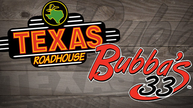Texas Roadhouse, Bubba's 33 to donate 100% of profits Thursday to…