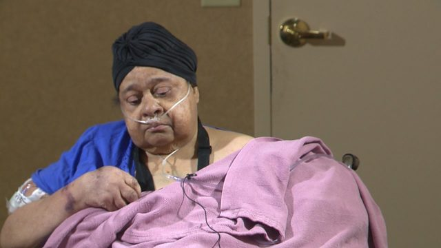 Challenges ahead for woman left homeless after being rescued from house fire