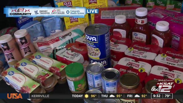 KSAT Community Drive Away Hunger Food Drive in September | KSAT12