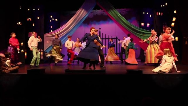 Backstage- Magical Mary Poppins flies into The Public Theater