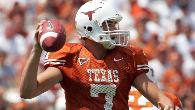 Former Texas Longhorns quarterback, high school star dies at 32