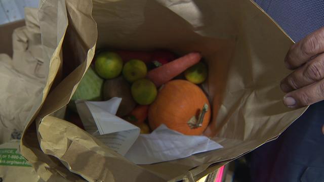 Fresh produce program helps needy families eat healthier