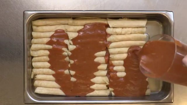 Video: NEISD shares famous enchilada recipe