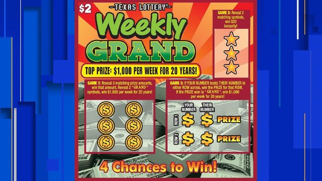 Live Oak resident wins $1,000 a week for 20 years in lottery scratch ticket game