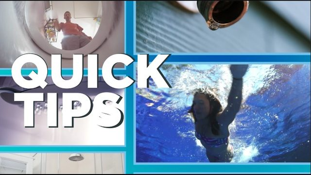 Quick Tips: Save water, save money
