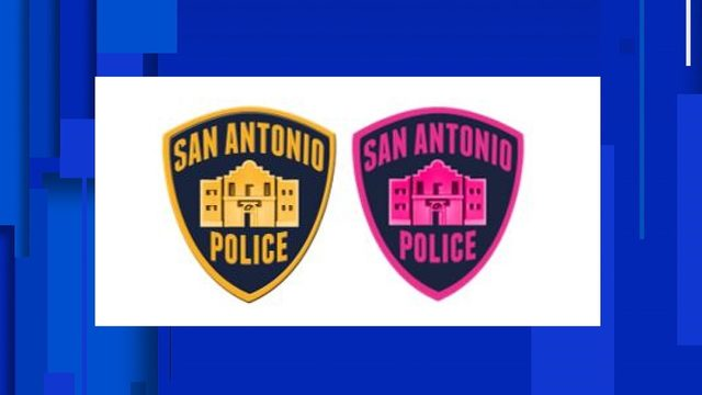 SAPD officers to wear pink patches in October for breast cancer awareness