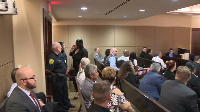 Courtroom filled with emotion following man's 65-year prison sentence in…