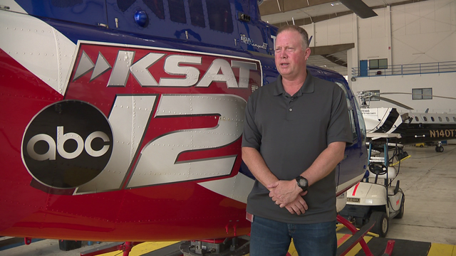 Man arrested, accused of pointing laser at KSAT's helicopter