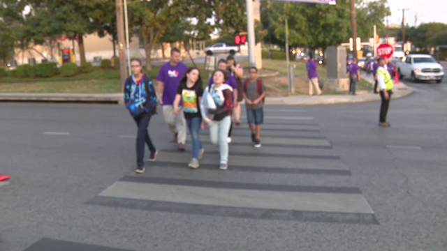 Students reminded to play it safe while walking to school