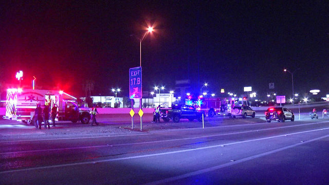SAPD: Motorcyclist taken to hospital after crash on Loop 410