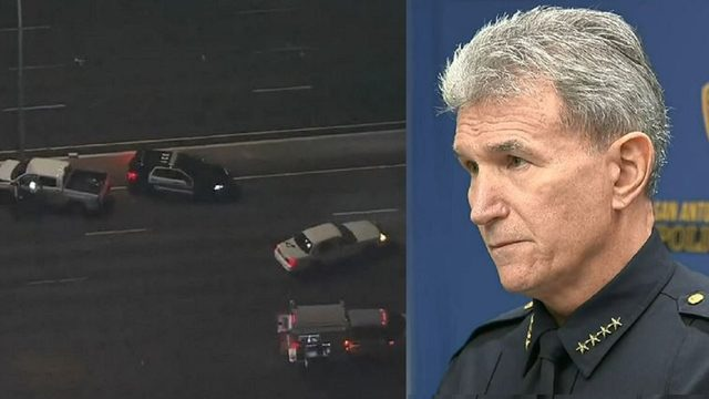 After officer injured, SAPD chief angry over sheriff's chase policy,…