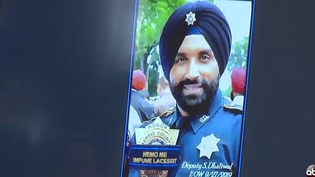 Local Sikh community honors 'trailblazer' Harris Co. deputy killed in…