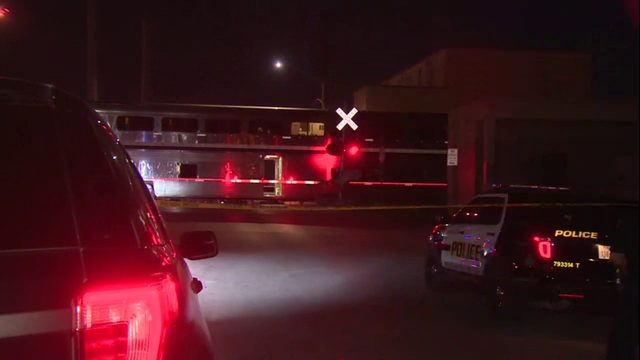 Woman struck, killed by passenger train northwest of downtown SA